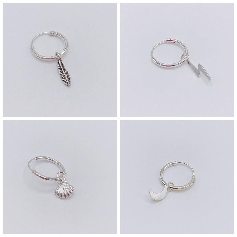 zilveren-oorbellen-ringetjes-met-hangertjes