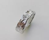 handgemaakte zilveren ringen ( set )_