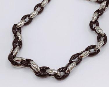 stainless steel , zwart en zilver